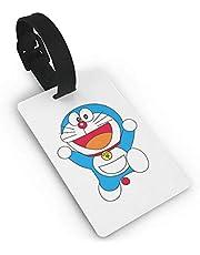 Lindas etiquetas de equipaje de Doraemon, maleta de mano, identificación de viaje, etiqueta de equipaje