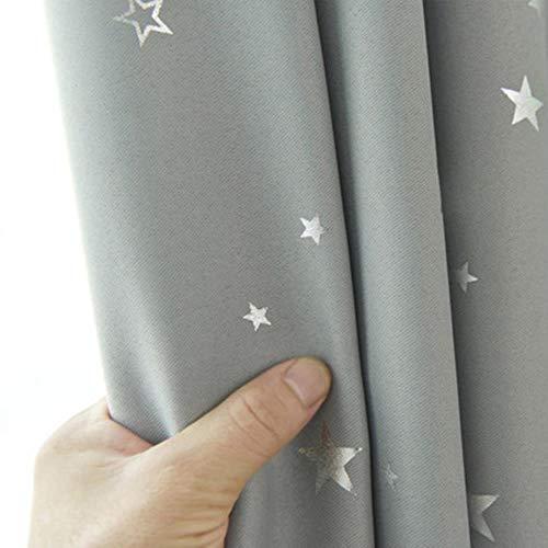 Shiny Stars Kinderen Doek Gordijnen Voor Kinderen Jongen Meisje Slaapkamer Woonkamer Blauw/Roze Verduisterende Cortinas Maatwerk Drape wp123# 30, Kleur 1 Doek, 1pc W200CM X H260CM