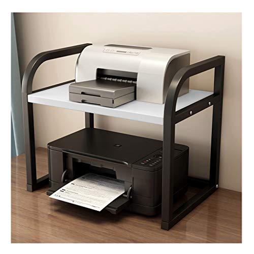 Druckerständer Multifunktionsdrucker Shelf Mehrschichtige Büro Desktop Storage Einfache Kopierer Document Abstellflächen Haushaltsdruckerständer Office Supplies Organizer (Color : B, Größe : S)