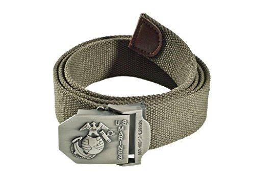 A.Blöchl Original US Army marine USMC Gilet en tissu Pantalon ceinture ceinture 4 cm de large champ attelage Différents coloris à 130 cm - Multicolore
