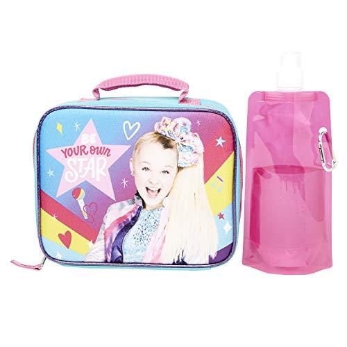 JoJo Siwa Lunchbox Combo Set - JoJo Siwa Girls 3 Piece Lunchbox Set - Lunchbox, Water Bottle and Carabina (JoJo Siwa)