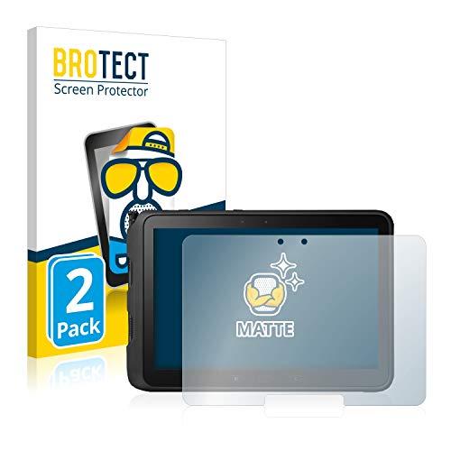 BROTECT 2X Entspiegelungs-Schutzfolie kompatibel mit Samsung Galaxy Tab Active Pro Bildschirmschutz-Folie Matt, Anti-Reflex, Anti-Fingerprint