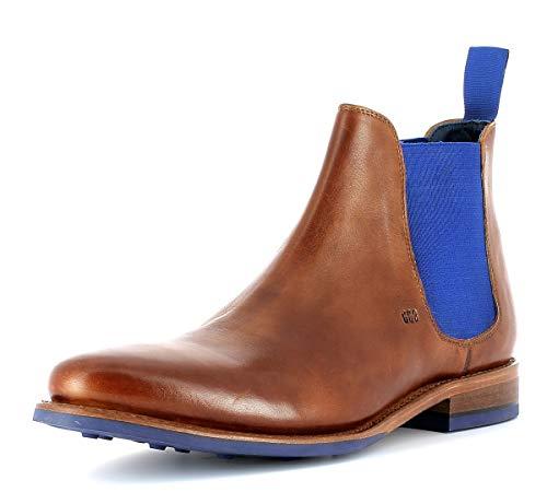 Gordon & Bros Herren Desert Boots Bojan 5926,rahmengenähte,Flexible Männer Stiefel,Halbstiefel,Schnürboots,Bootie,Goodyear Welted,British TAN,EU 41