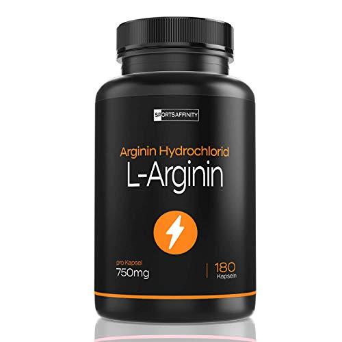 Premium L-Arginin - Hochdosiert mit 6000mg pflanzlichem L Arginin Pulver HCL (davon 5000 mg reines L-Arginin) - Arginine Aminosäure - Vegan, hergestellt in Deutschland