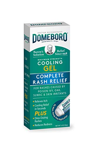 Domeboro Cooling Gel Complete Skin Rash Relief, 3 Ounce