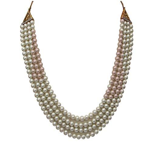 JewelryGift Pblico profesional. Personas consumidores chapado en oro-cobre Perla de cristal