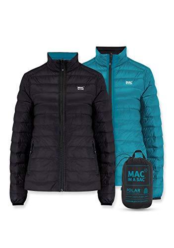 Mac in a Sac Polar - Damen Daunenjacke - Tiefschwarz - Blaugrün - M