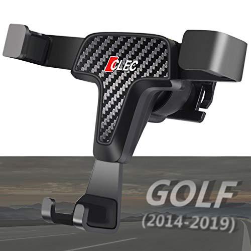 AYADA Handyhalterung für VW Golf 7, Golf 7 Handyhalterung Gravity Automatische Sperre Aluminiumlegierung Stabil Hände Frei Golf 7 Handy Halterung Smartphone Handy Halter Golf Zubehör