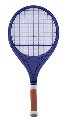 Tennisracket blauw - USB Flash Pen Drive 8 GB - Tennis Racket Memory Stick opslag - Memory Stick