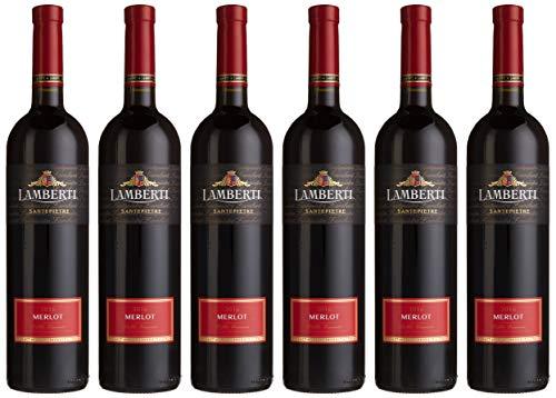 Lamberti Merlot Santepietre Rotwein trocken (6 x 0.75 l)