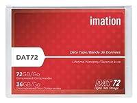 imation 4mmデータテープ DAT72規格 170m 36/72GB 5巻パック DAT72x5SP