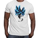 Camiseta Dragon Ball z, Goku… (Blanco, L)
