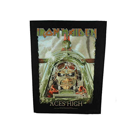 Iron Maiden Aces High Unisex Backpatch multicolor 95% Baumwolle, 5% Polyester Band-Merch, Bands