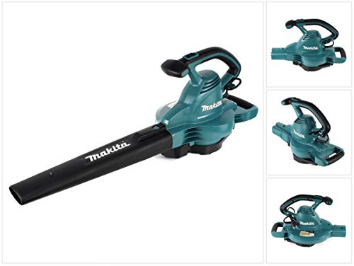 Makita elektrische bladblazer 1.650 W, groen-zwart, standaard