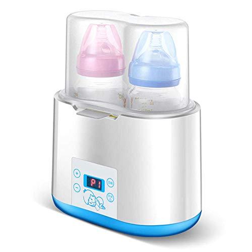 SSDS 2 in 1 Warme Milchflasche, Sterilisator, automatische Erwärmung, warme Milch-Isolierung, intelligente konstante Temperatur, heiße Milch, tolles Geschenk für Familie
