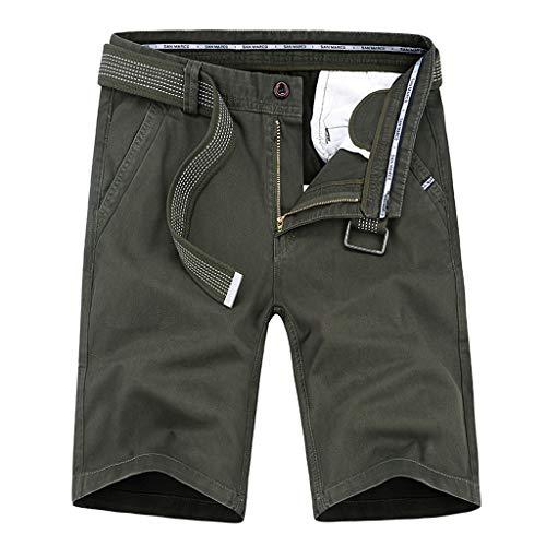ZEFOTIM - Pantalones Cortos Informales para Hombre - - 48