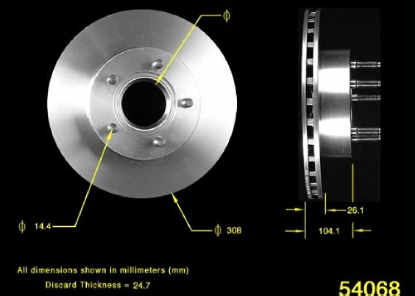 Bendix PRT5235 Brake Rotor
