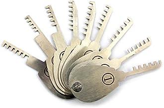 9 stks Kam Lock Picking Tool Set voor Slotenmak,Open Lock Tool