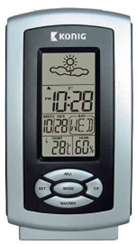 Koning, thermo-hygrometer Weerstation