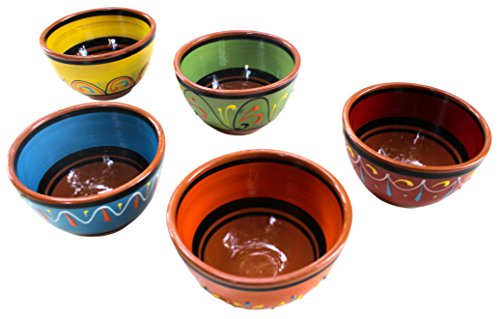 Spanish Terracotta Bowl Set