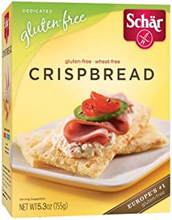 Schar Gluten Free Crispbread - 5.3 Oz (Pack of 12)