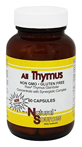 Natural Sources All Thymus 60 Capsules