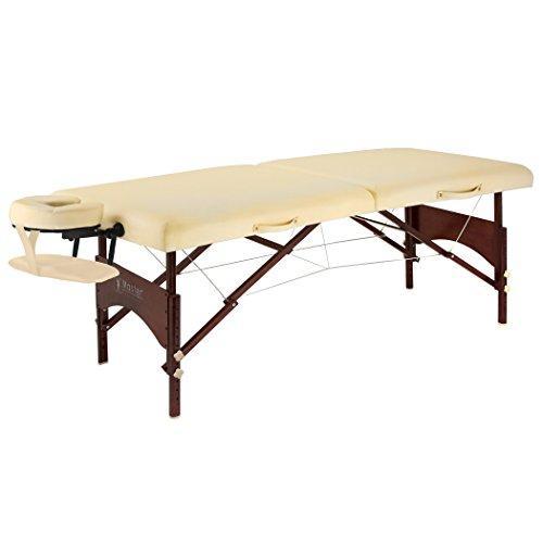 Master Massage Argo Mobil Klappbar Massageliege Beige