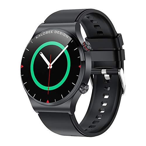 BNMY Smartwatch Llamada Bluetooth Pantalla De 1,3 Pulgadas Reloj Inteligente Impermeable IP68 con Pulsómetros para Mujer Hombre, Pulsera De Actividad Inteligente,D