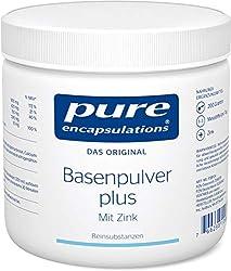 Pure Encapsulations - Basenpulver plus - NahrungsergŠnzungsmittel mit Zink fŸr den SŠure-Basen-Stoffwechsel und wertvollen Mineralstoffen