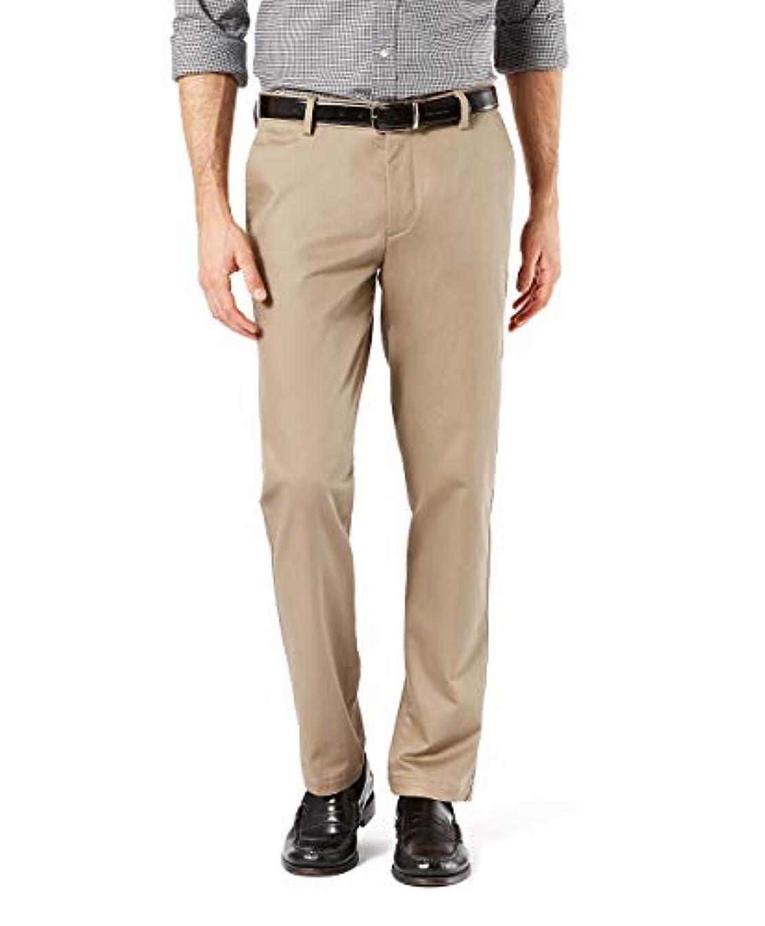 Dockers Men's Slim Fit Signature Khaki Lux Cotton Stretch Pants D1