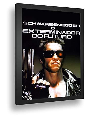 Quadro Decorativo Poste Exterminador Do Futuro Arnold Retro
