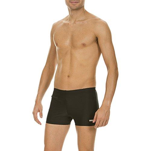 arena Herren Sport Badehose Brunera (Reißverschluss, Schnelltrocknend, UV-Schutz, Chlor-/Salzwasserbeständig), Black (50), 7