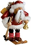 KWO Skiing Santa Claus German Christmas Incense Smoker Handcrafted in Germany