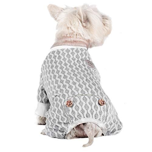 kyeese Hunde-Pyjama für große Hunde, Einteiler, leicht, 4 Beine, Jumpsuit für Herbst und Winter
