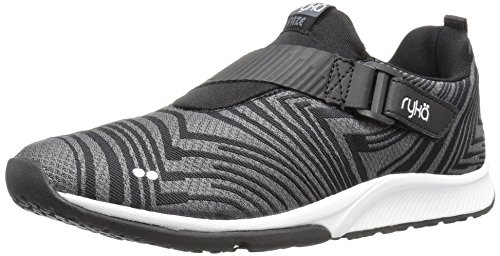 Ryka Women's Faze Cross-Trainer Shoe, Black/Grey,...