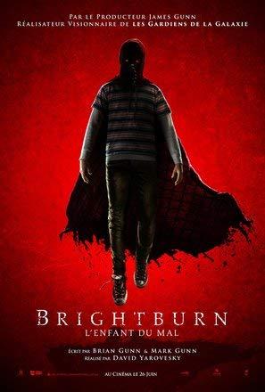 BRIGHTBURN – Französisch Film Poster Plakat Drucken Bild - 30.4 x 43.2cm Größe Grösse Filmplakat