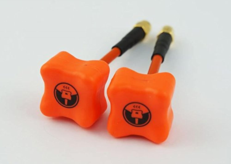 punto de venta Team negrosheep TBS Triumph 5,8GHz lhcp-001SMA Antena Set Set Set (2pcs), Color Naranja  60% de descuento