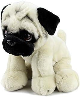 Elka Australia 3-178008 Hudson Pug Dog Soft Plush Toy, 30 Centimeters