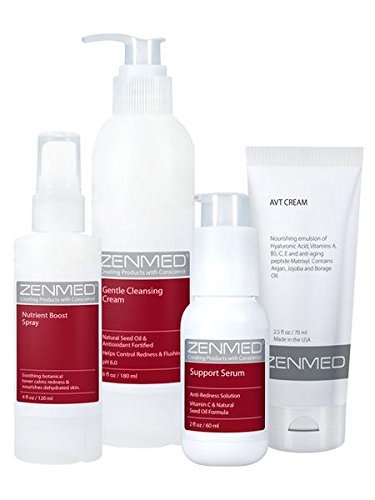 ZENMED Linda's Recipe for Redness-Prone Skin - Protect and Nourish the Skin with this Special Combination of Redness-Reducing Botanicals and Emollients