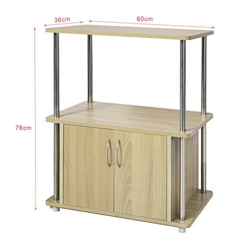 SoBuyFRG260-N,Mueble multiusos de cocina,Aparador auxiliar bajo ...