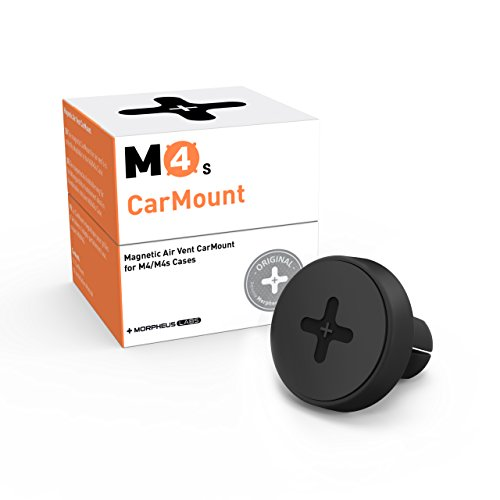 Morpheus Labs M4s Handyhalterung fürs Auto KFZ Halterung Handy Car Mount magnetische Autohalterung Lüftung Lüftungsschlitz für alle M4s Cases (iPhone X / Xs, 8, 7, 8 Plus, 11, 11 Pro, 11 Pro Max)