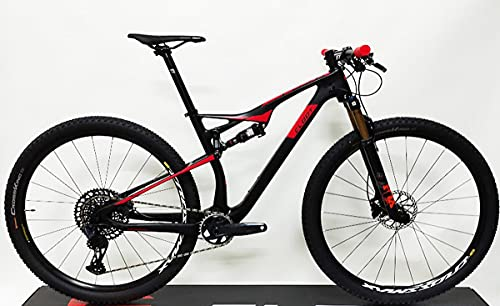 CLOOT Bicicletas Carbono Doble 29 Evolution FS 9.0 Team, SRAM Eagle 12v 10-52, Horquilla Fox KASIMA y Amortiguador Rockshox. (Talla M (163-178))