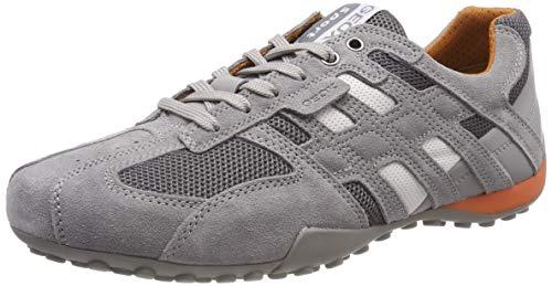 Geox Herren UOMO SNAKE K Sneaker, Grau (Grey C1006), 44 EU