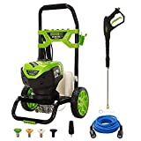 Greenworks Pro 2300 Max PSI @ 2.3 GPM (14 Amp) Brushless Electric Pressure Washer GW2300