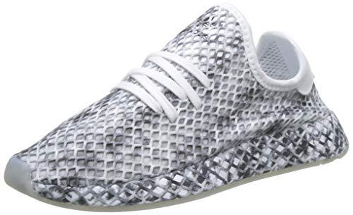 adidas DEERUPT Runner W, Scarpe da Running Donna, Bianco (Ftwr White/Core Black/Core Black Ftwr White/Core Black/Core Black), 36 EU
