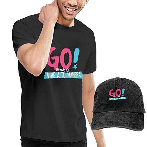 Go Vi_Ve A Tu Ma_Nera - Camiseta de algodón para hombre