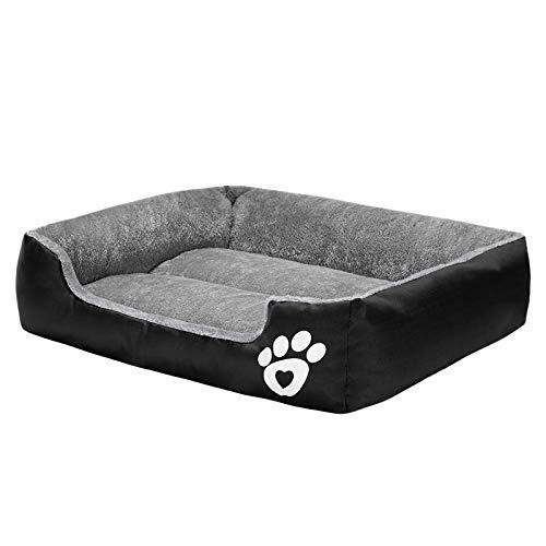 Haustierbett für kleine/mittel/große/extra große Hunde, super weiches Haustier-Sofa, Katzenbett, selbstwärmend und atmungsaktiv, Haustierbett, Premium-Bettwäsche