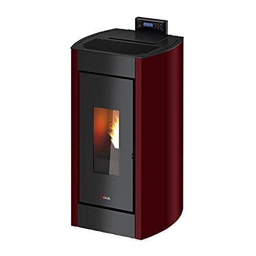 Cadel Kriss 3 Elektrische installatie, Pellet zwart, rood