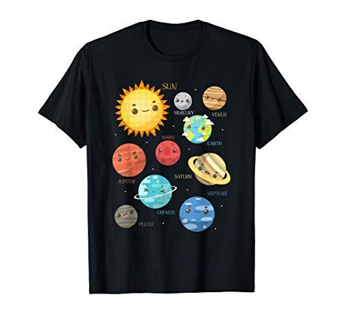 Planeten Wissenschaftler Geschenk für Kinder Astronomie T-Shirt