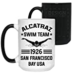 HELEN Alcatraz Swim Team Color Changing Coffee, Mug